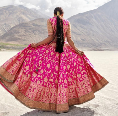5 Trends and 6 Reasons to Rock the Banarasi Lehenga on Your D-day