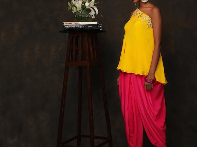 Check Out 7 Stylish Images of Dhoti Pants for Modern Brides