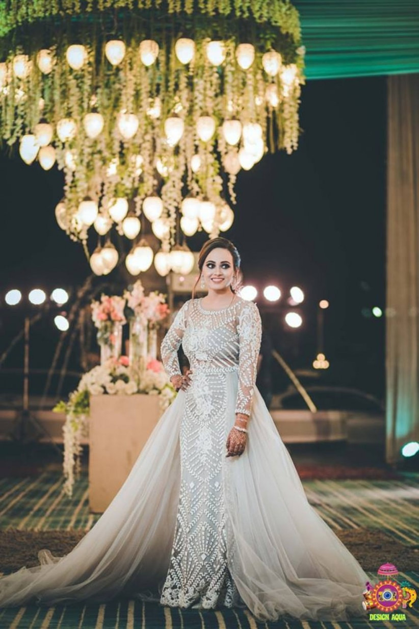 13 Gowns For Indian Wedding Reception Every Bride Must See As They