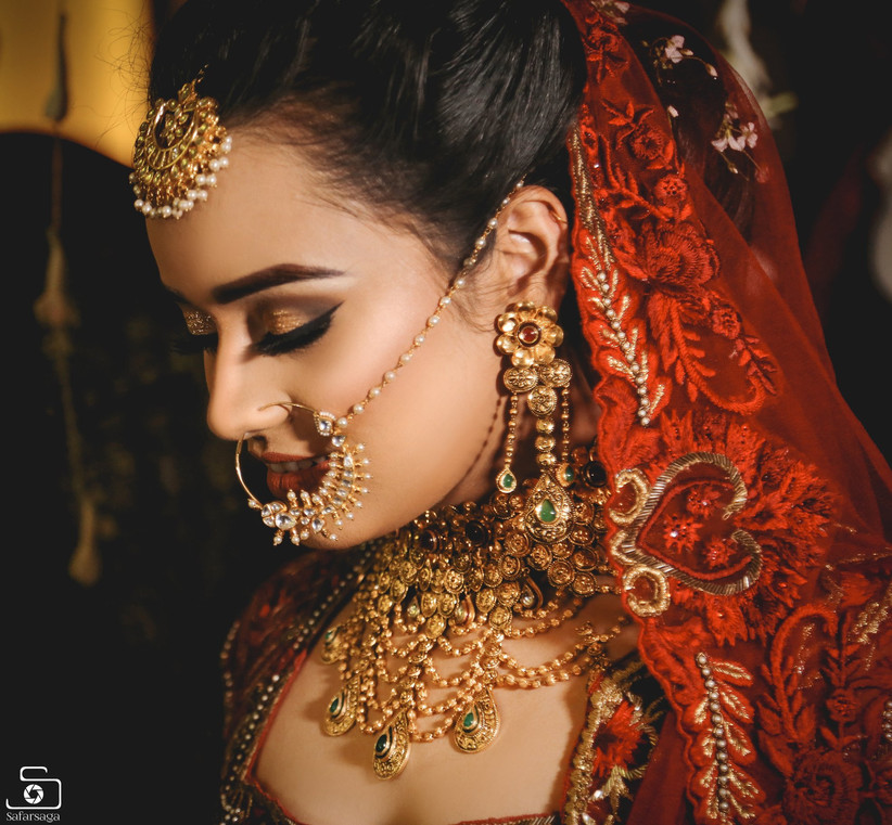 Check These Stunning Wedding Nose Ring Designs Seen On Real Brides