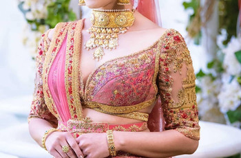 Here Are 30 Indian Blouse Neck Designs to Help You Steal the Show on Your D-day!