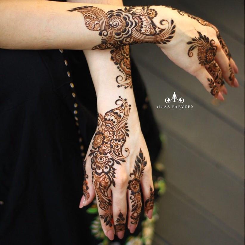 Top 89 Arabic Mehndi Designs