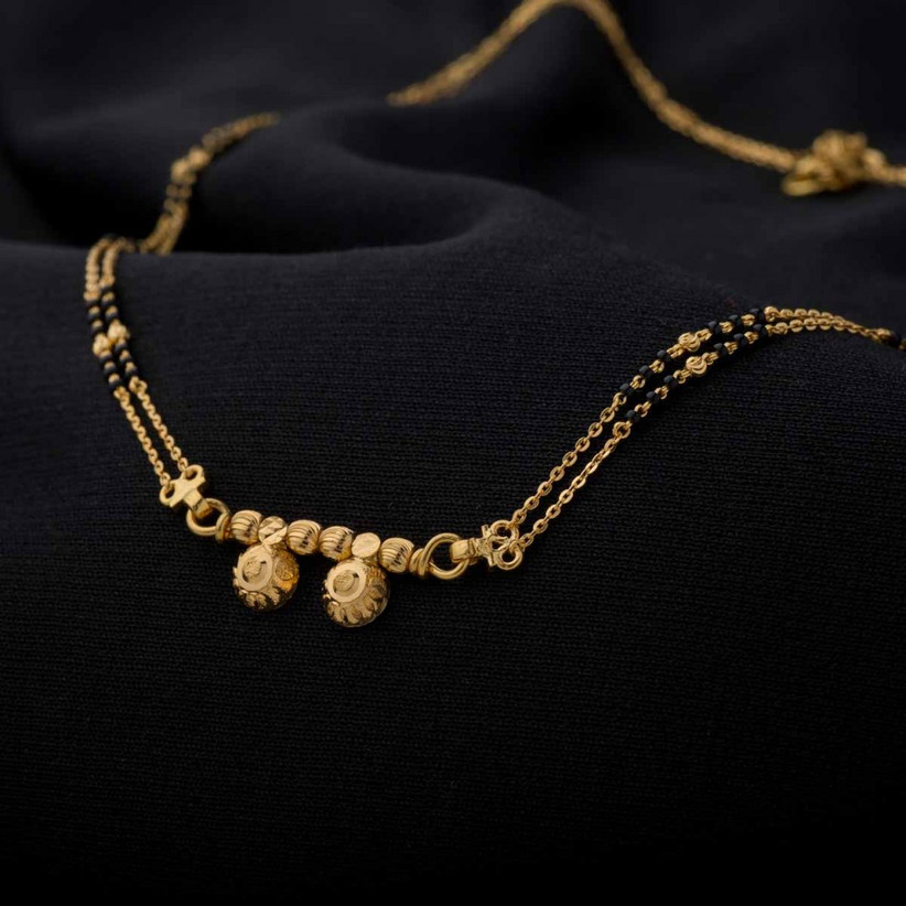 15 Latest Daily Wear Gold Mangalsutra Designs For Today S Brides