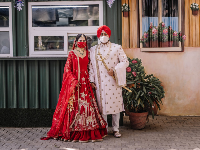 Intimate Less Than 50 People Wedding of Bhavdeep Kaur in Ludhiana