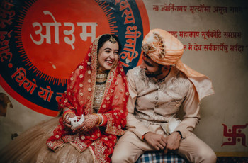 This Couple Celebrated an Intimate 50 People Wedding in Delhi