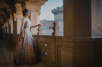 All the Floral Lehenga Inspiration You'd Need for Your Big Day - Check It out Right Here
