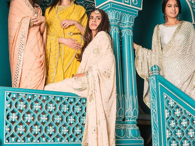9 Stunning Mirror Work Sarees That Would Make Heads Turn