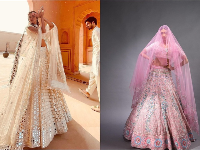11 Lehenga Dupatta Draping Styles for Your Inspiration