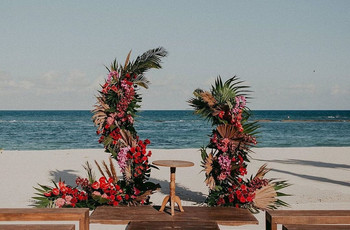 Ideal Beach Resorts on Caribbean Waters Perfect for a Beach Wedding