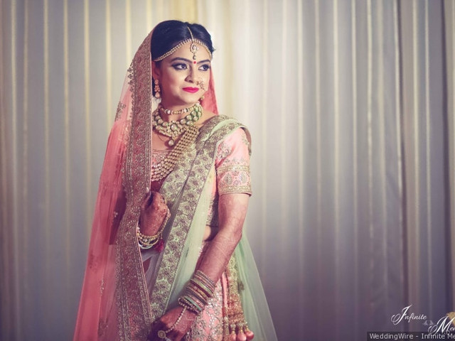 4 Breathtaking Lehenga Saree Bridal Ideas For Your Wedding Trousseau