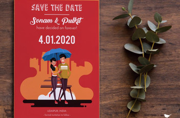 Save the Date Ideas: Set the Tone Right for Your D-day With a Quirk