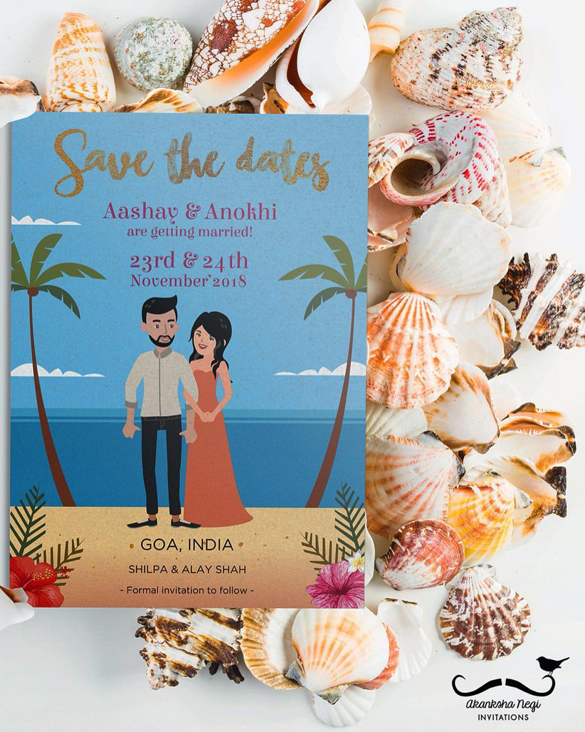 Akanksha Negi Invitations