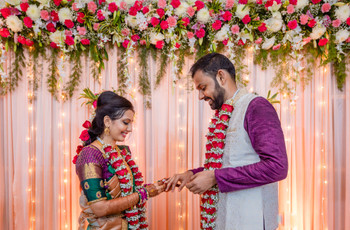 This Couple Hosted a Small Home Wedding in Chennai With 50 People