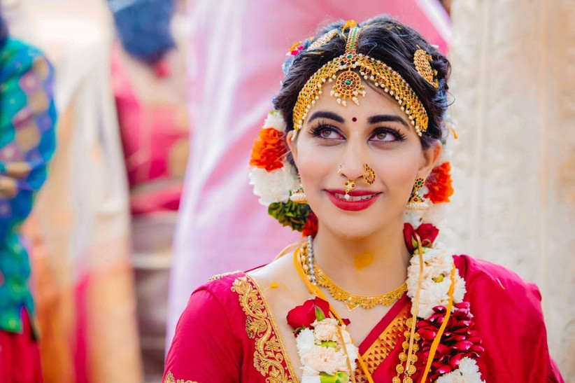 South Indian Bridal Makeup Guide - Here's How You Perfect