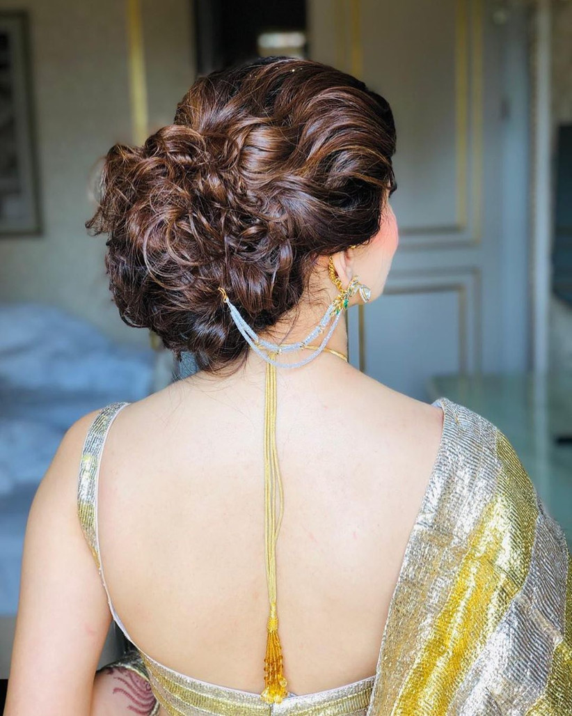 9 Effortlessly Beautiful Bun Hairstyle for Indian Wedding Function Ideas You Must Check out Now