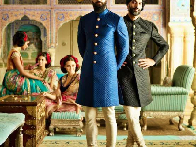 8 Stunning Blue Sherwani Designs To Match Up With Your Bride's Outfit!