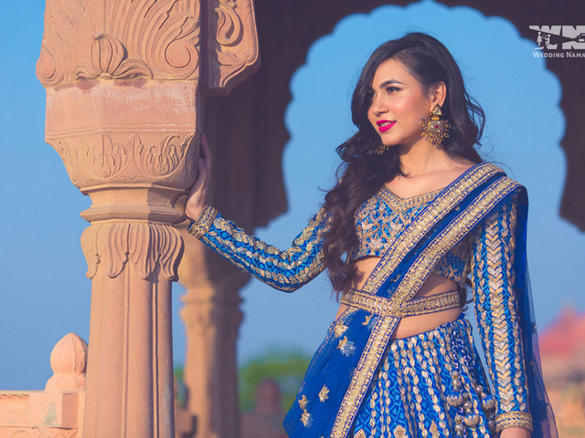 Jaw-Dropping Kamarband On Lehenga Images For Your Big Day