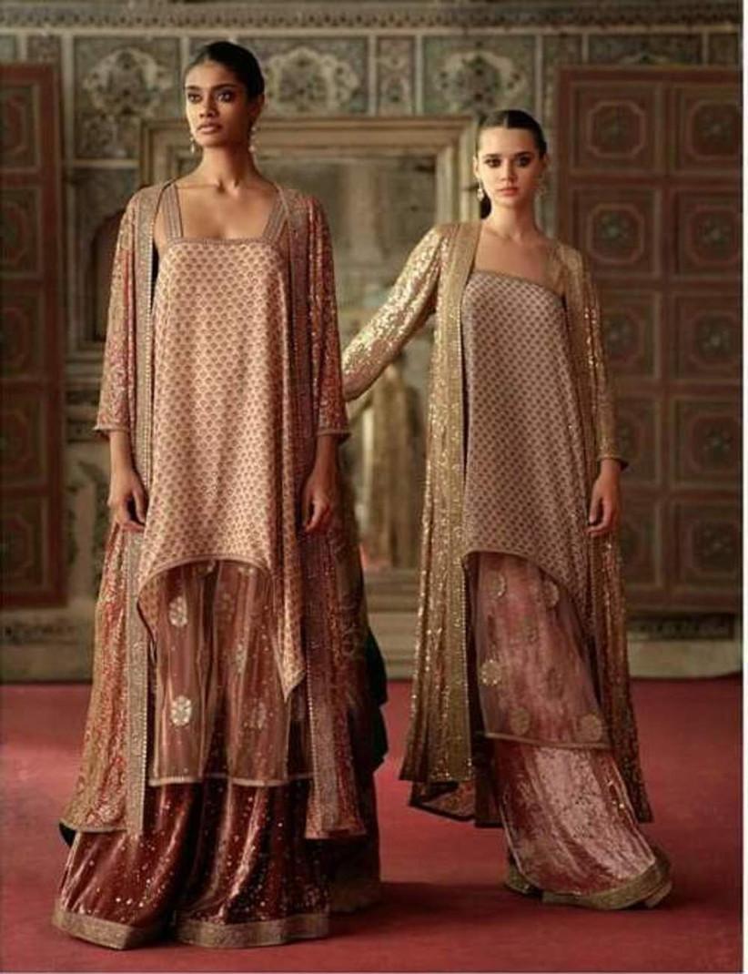 Pattern ladies suit neck Top 20