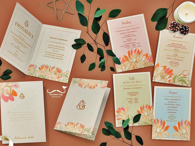 Wedding Card Ideas to Make the D-day Invites a Class Apart