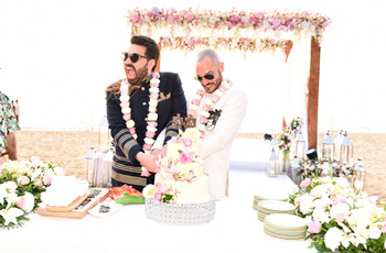 This Same Sex Wedding Story of Keshav Suri and Cyril Feuillebois Has Our Heart