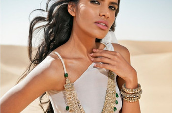 Jewellery Designs to Complement Your White Wedding Bridal Look