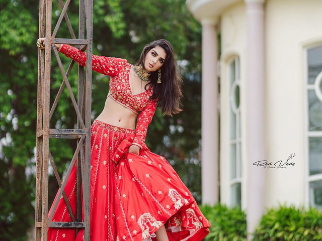 Brides Who Nailed the Quirky Sneakers With Lehenga Look