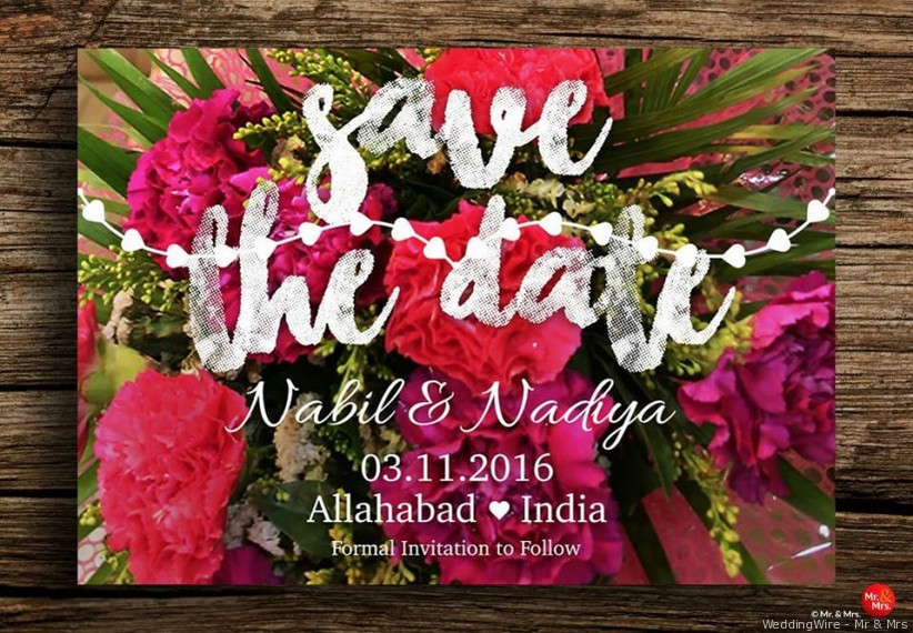 Ditch The Traditional Print And Create Indian Wedding Invitation
