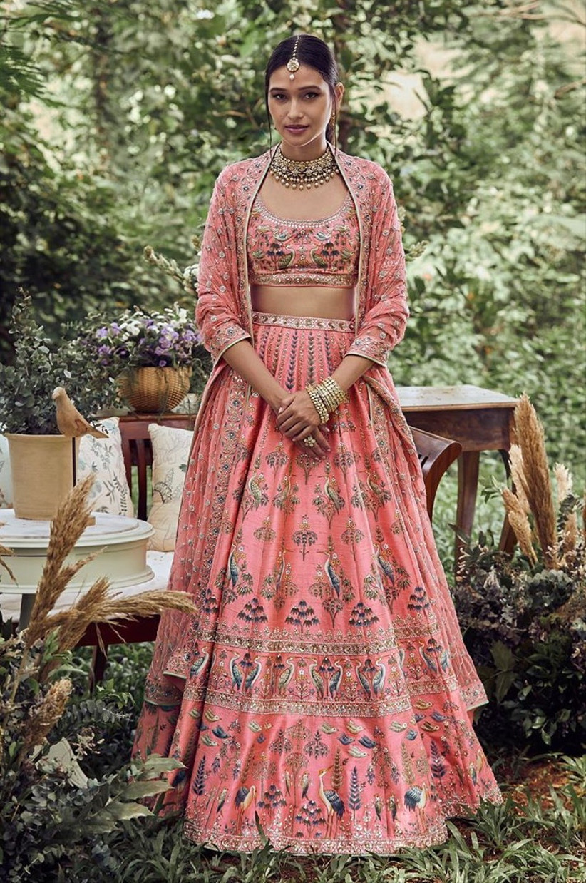 engagement dress lehenga by Anita Dongre
