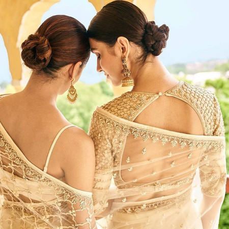 Here Are the Top 49+ Blouse Back Neck Designs for the New Age Brides