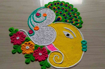 8 Stunning Rajasthani Rangoli Designs You Need to Check Out to Amp Up Your Wedding Venue!