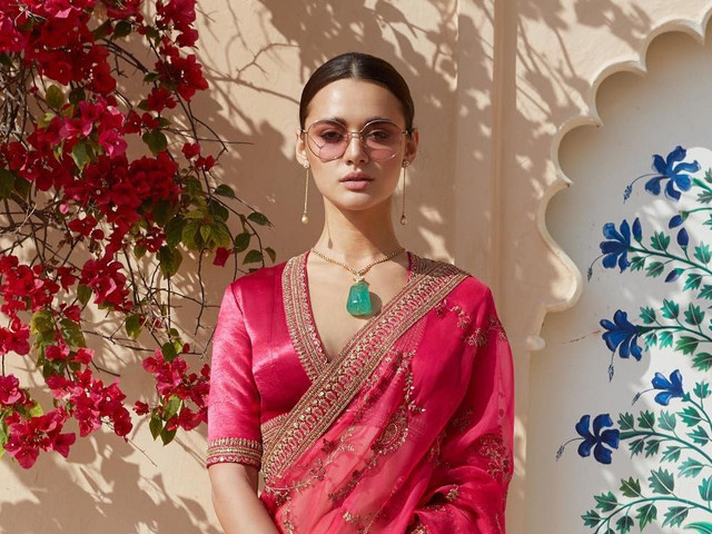 Sabyasachi's Blouse Designs for Designer Sarees Are All You Need This Season!