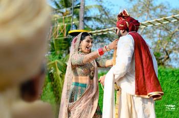 12 Breathtaking Lehenga Saree Blouse Designs That Can Make Your Bridal Ensemble Dreams Come True!