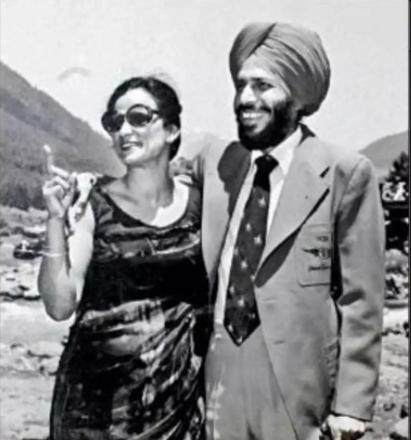 Milkha Singh & Nirmal Saini