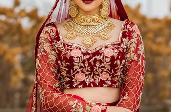 5 Drop-Dead Gorgeous Maroon Bridal Lehenga Designs Every Bride Must Checkout Before Her Big Day