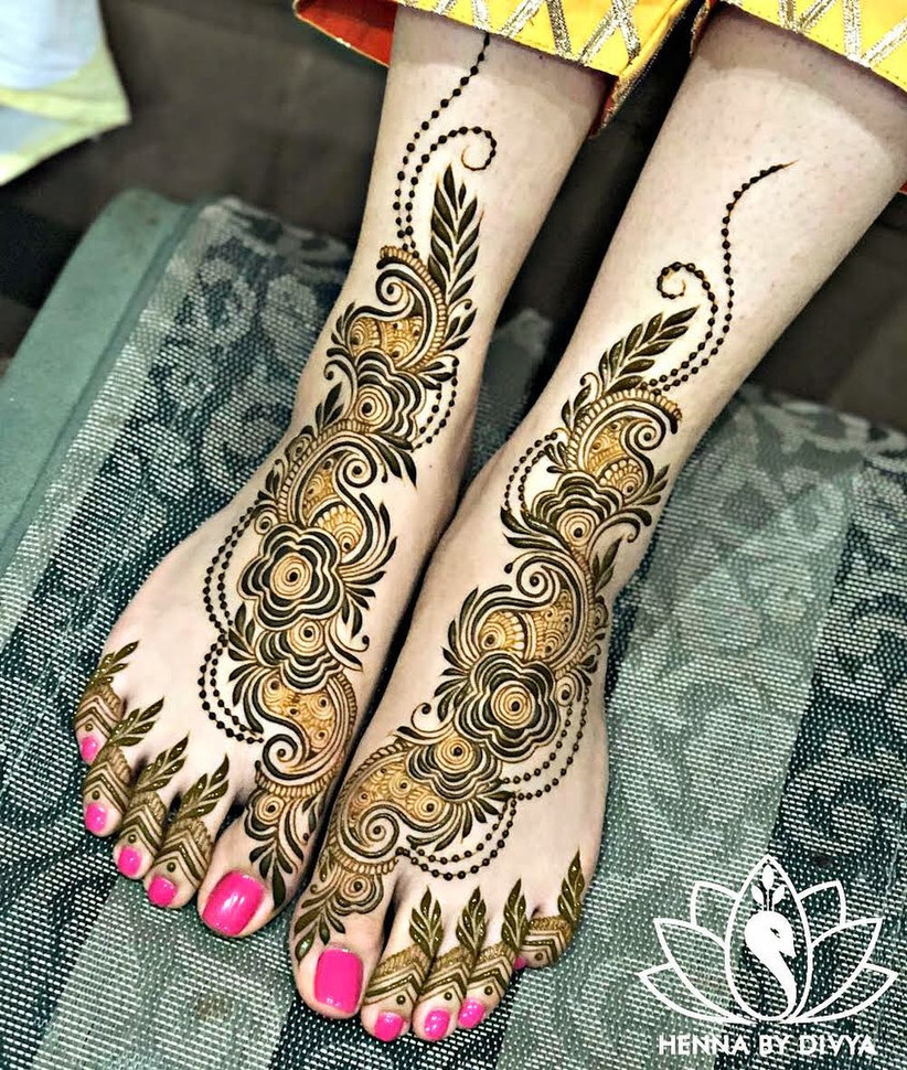 Pakistani Mehndi Designs Images 12 Patterns For Hands And Feet