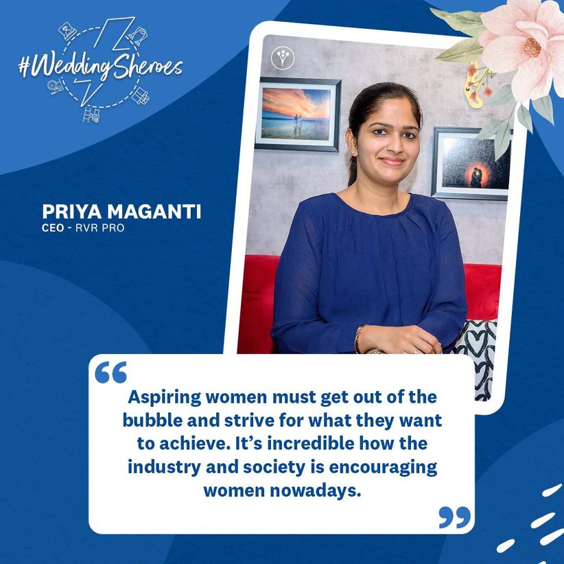 Priya Maganti, CEO - RVRPRO