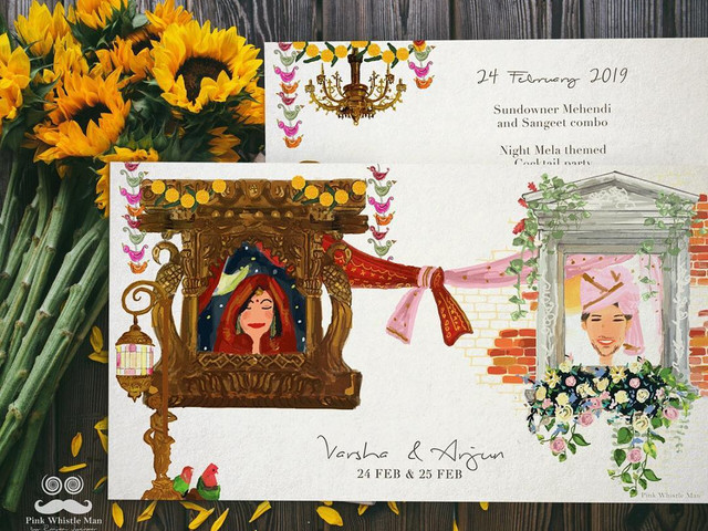 Invitation Background Ideas to Make Your Wedding Card LIT