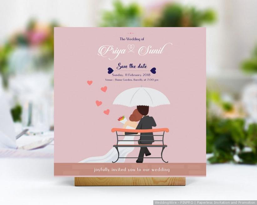 online wedding invitation card