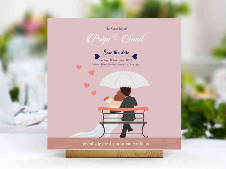 Ditch Paper And Go Green With Online Wedding Invitation Card