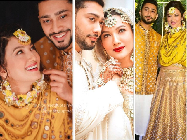 Gauahar Khan And Zaid Darbar Tied the Knot