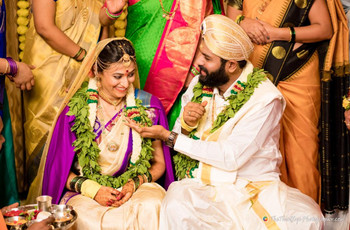 Meghna & Charan Hosted an Intimate 50-people Wedding in Bangalore