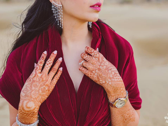 26 Exquisite Back Hand Mehndi Designs for Your Wedding