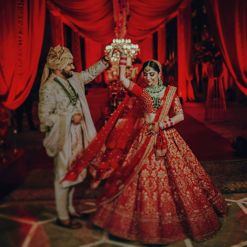 20 Beautiful Dulhan Pictures You Must Ask Your Photographer To Capture On Your Big Day