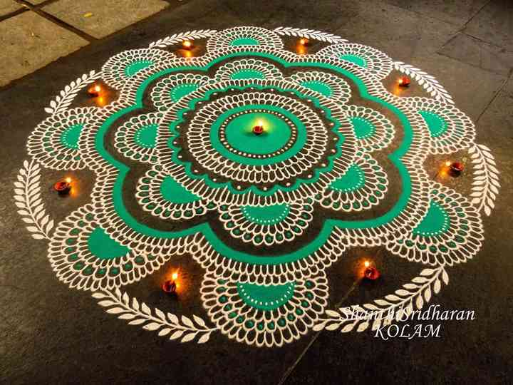 101 Rangoli Designs to Make Sure Your Wedding Is the Prettiest of Them All