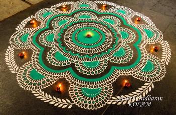 101+ Rangoli Designs Handpicked to Inspire Beautiful Wedding Decor