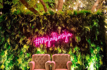 Learn How to Make Bridal Hashtags for a Unique & Quirky Decor