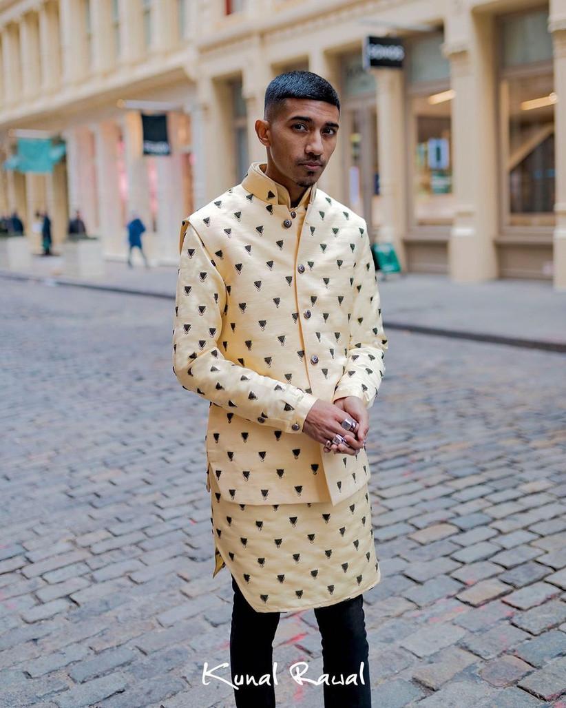 Grooms wear by Kunal Rawal