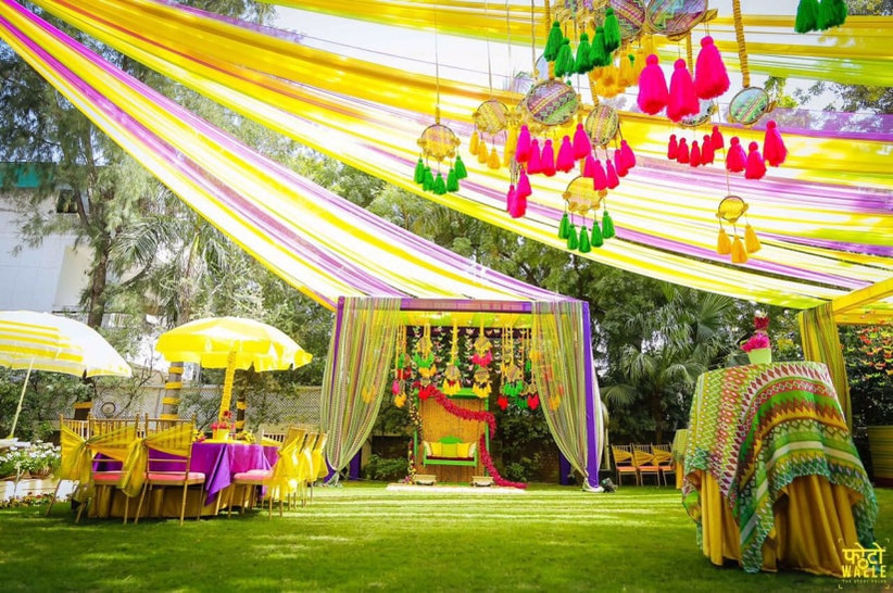 Tune in to These 5 Stunning Mehndi Decoration Ideas That