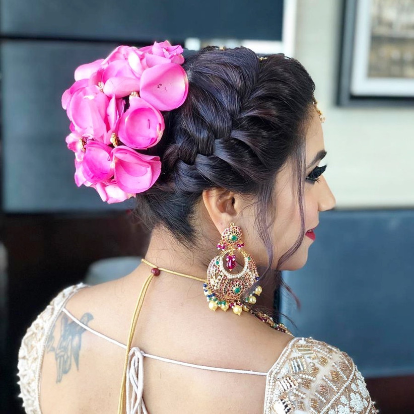Wedding Hairstyles Indian: 10 Inspiring Indian Wedding Hairstyles For Long Hair You