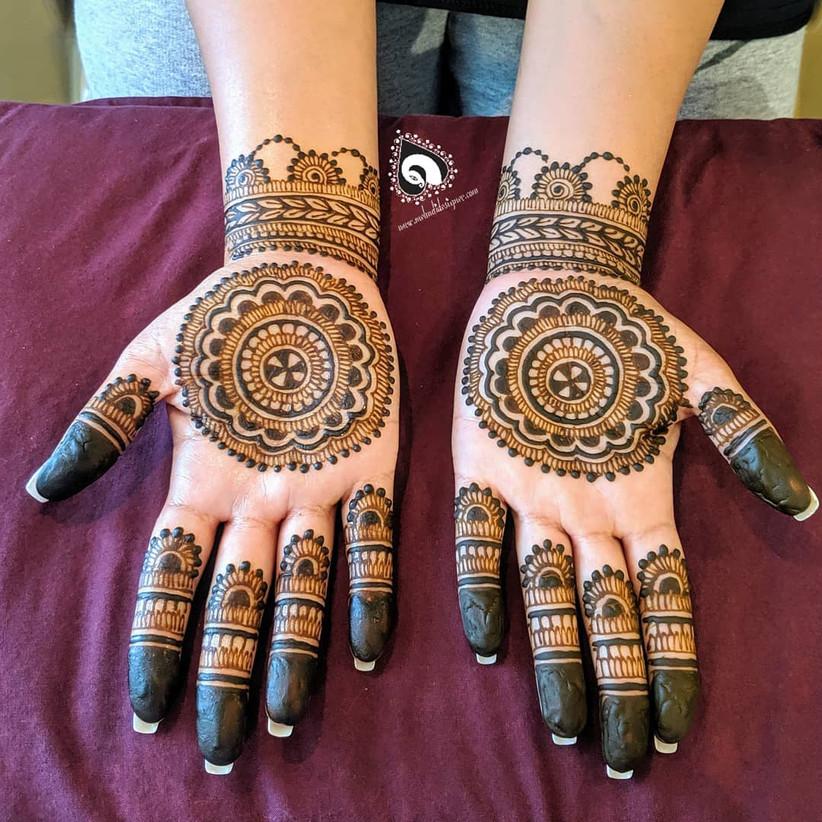 mehandi design for palm